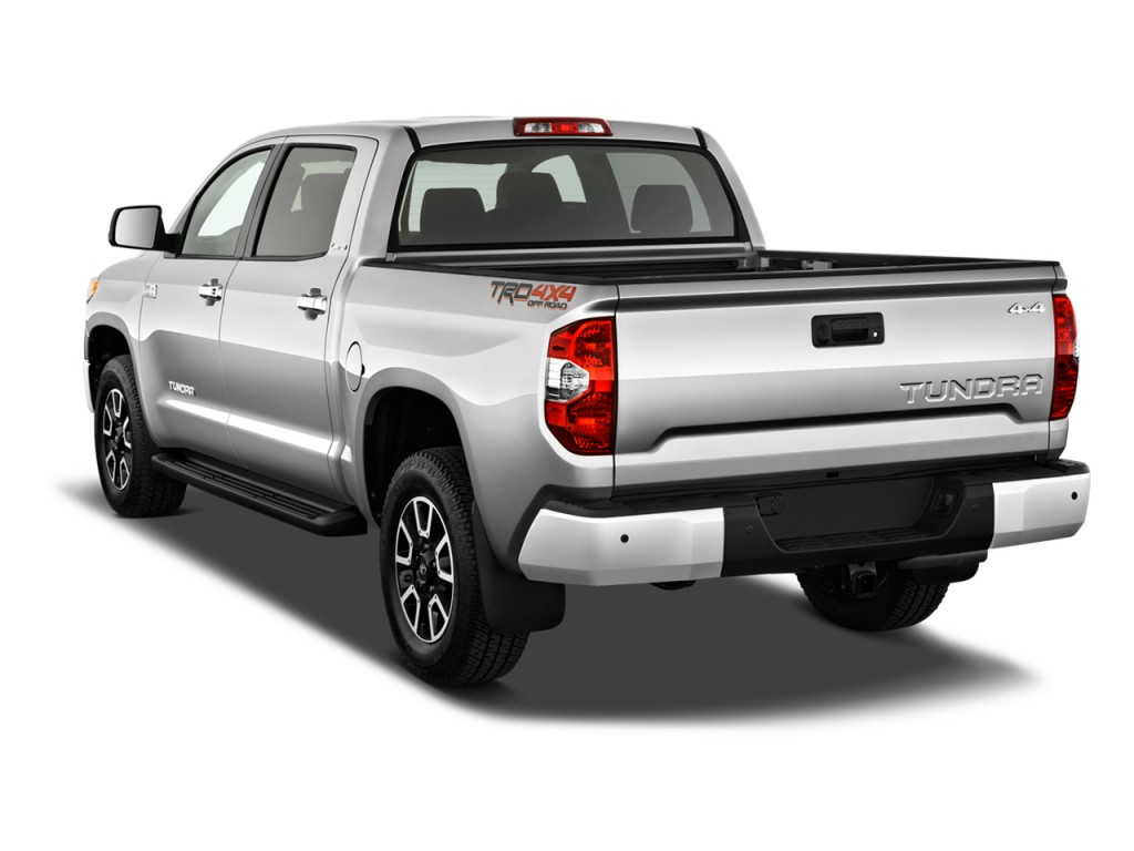 Tundra Limited 2016 >> Image: 2017 Toyota Tundra 2WD Limited CrewMax 5.5' Bed 5.7L (Natl) Angular Rear Exterior View ...