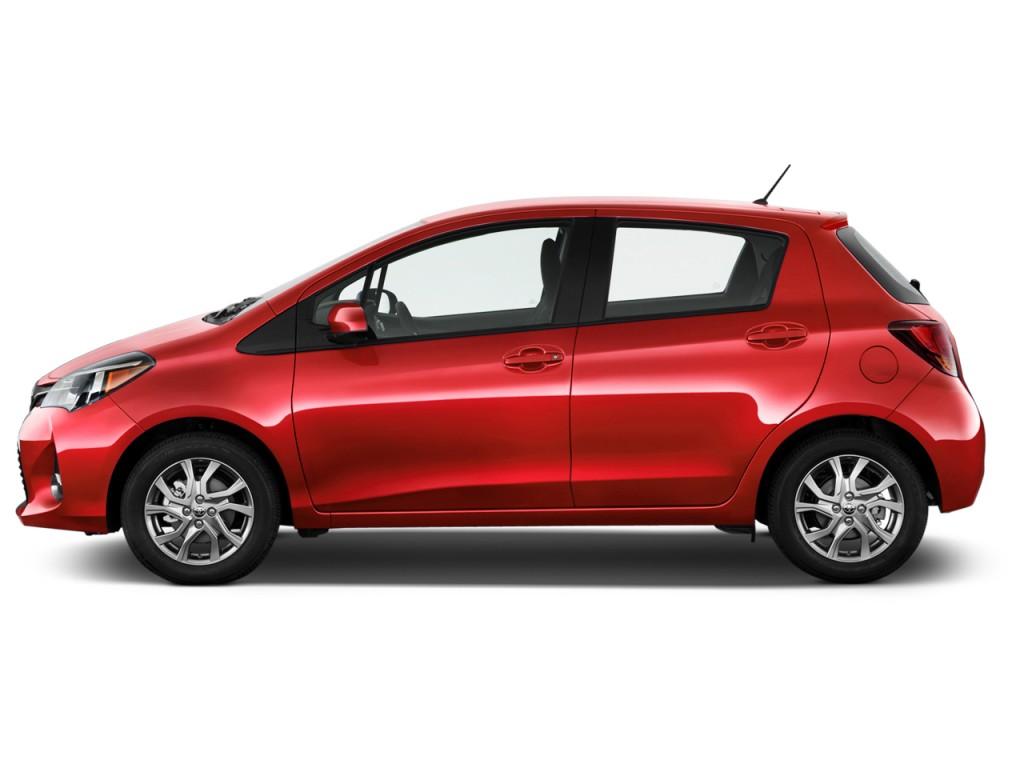 Image 2017 Toyota Yaris 5 Door Se Manual Natl Side