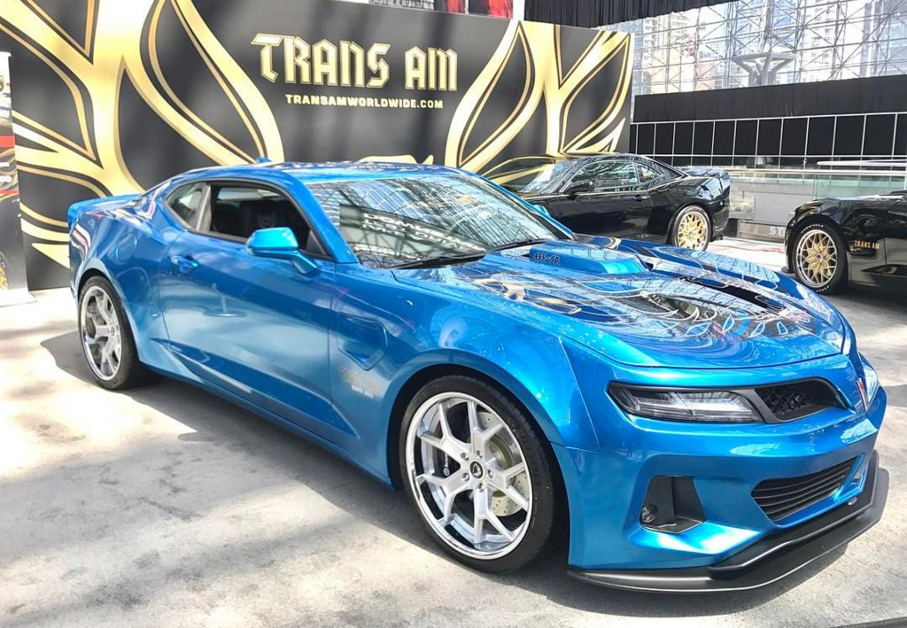 6th Gen Camaro Trans Am Conversion Comes Packing 1 000 Horsepower