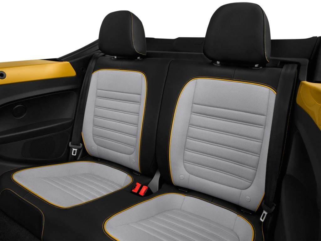 Little Apple Honda >> Image: 2017 Volkswagen Beetle 1.8T Dune Auto Rear Seats ...