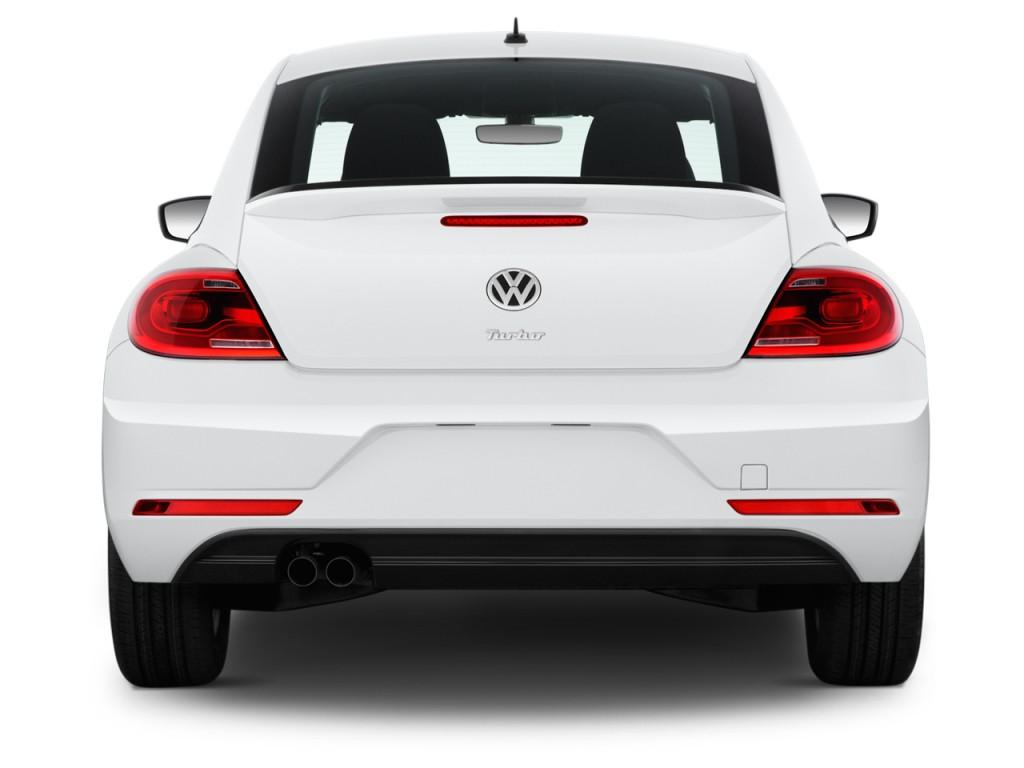 Image 2017 Volkswagen Beetle 1 8t S Auto Rear Exterior