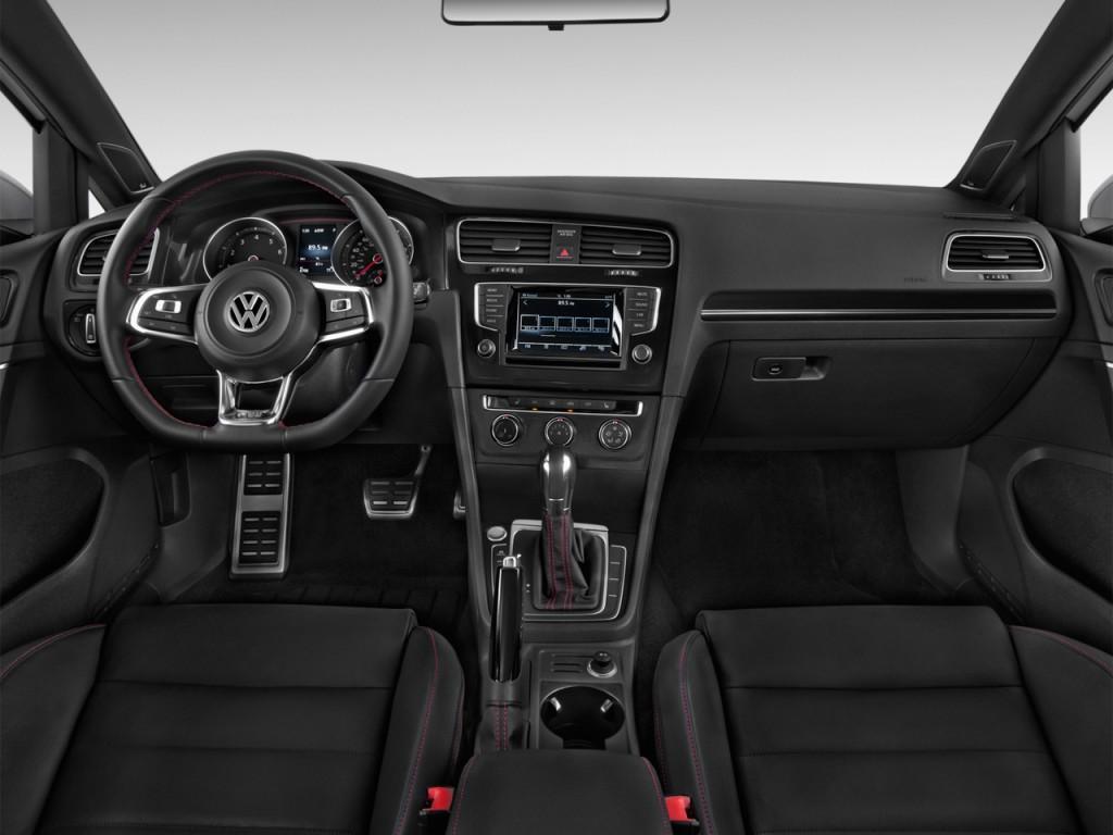 Image 2017 Volkswagen Golf Gti 2 0t 4 Door Se Dsg Dashboard Size 1024 X 768 Type Gif