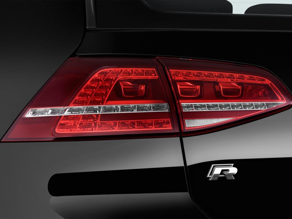 Image 2017 Volkswagen Golf R 4 Door Manual Tail Light