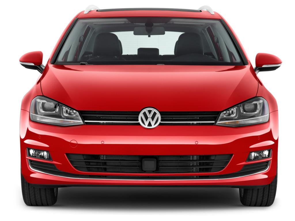 Image: 2017 Volkswagen Golf SportWagen 1.8T SEL Auto Front Exterior View, size: 1024 x 768, type ...