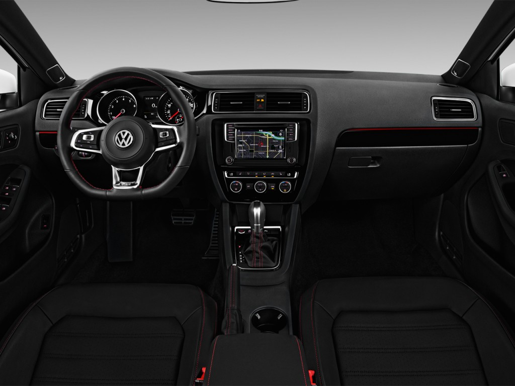 Image: 2017 Volkswagen Jetta GLI Auto Dashboard, size ...