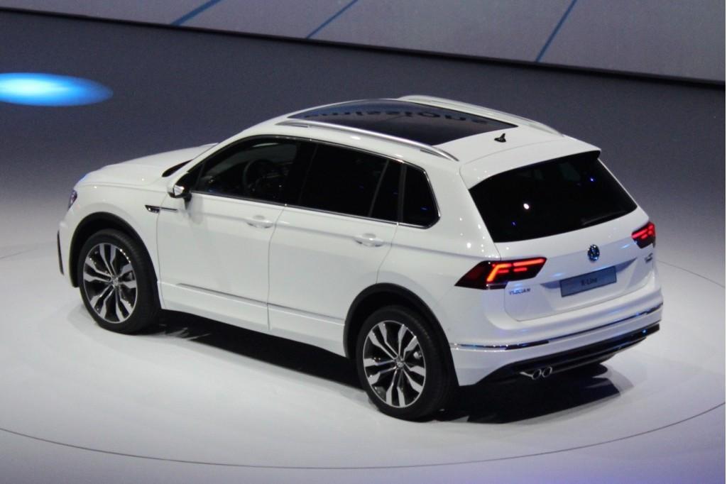 New Volkswagen Tiguan European Spec 2017 Frankfurt Auto Show