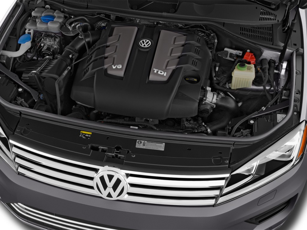 Image: 2017 Volkswagen Touareg V6 Executive Engine, size ...