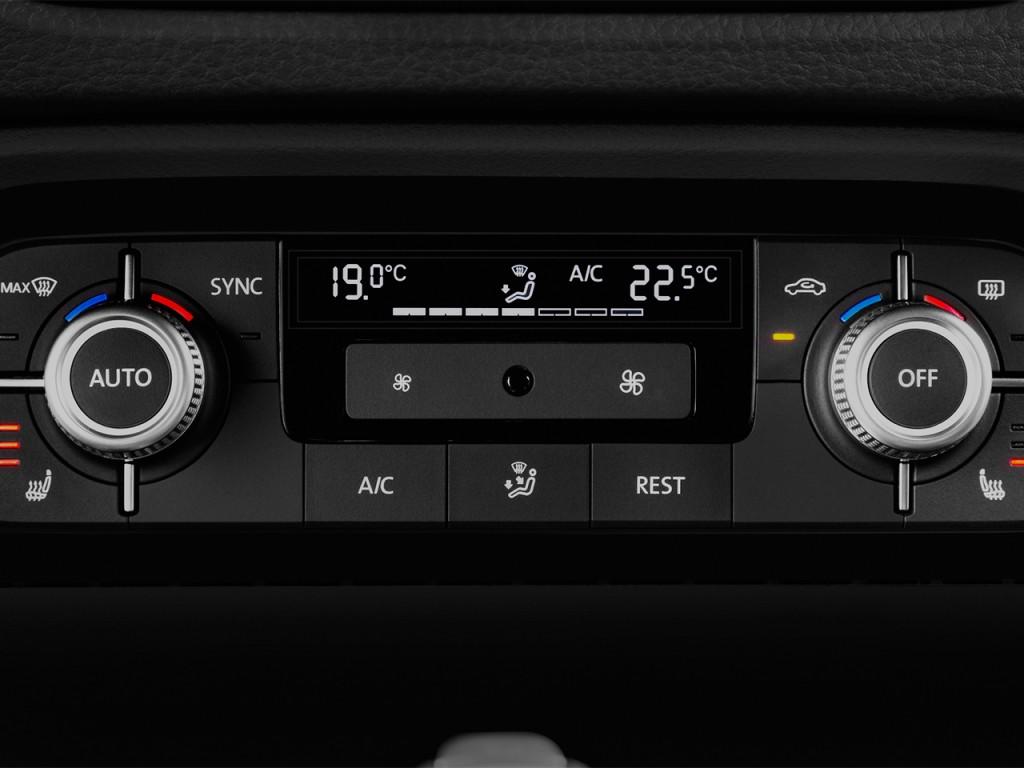 image 2017 volkswagen touareg v6 sport w technology temperature controls size 1024 x 768. Black Bedroom Furniture Sets. Home Design Ideas