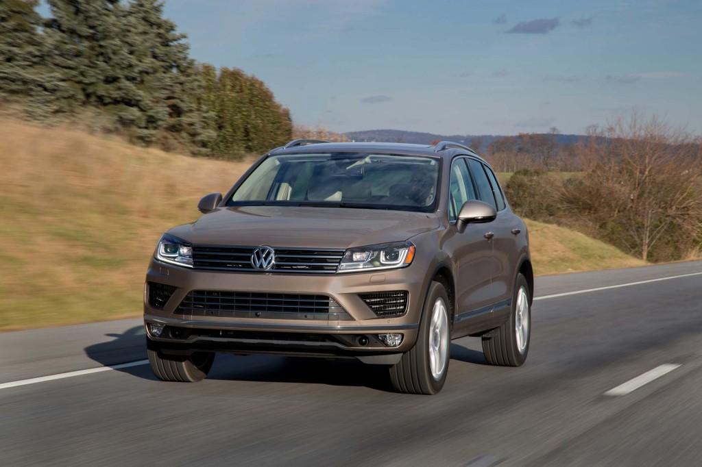 Volkswagen Touareg axed from U.S. market