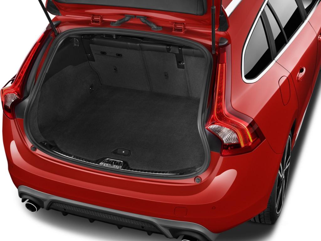 2017 Volvo S60 T6 R Design Platinum >> Image: 2017 Volvo V60 T6 AWD R-Design Platinum Trunk, size ...