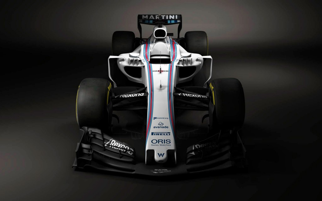 2017 Williams FW40 Formula One race car