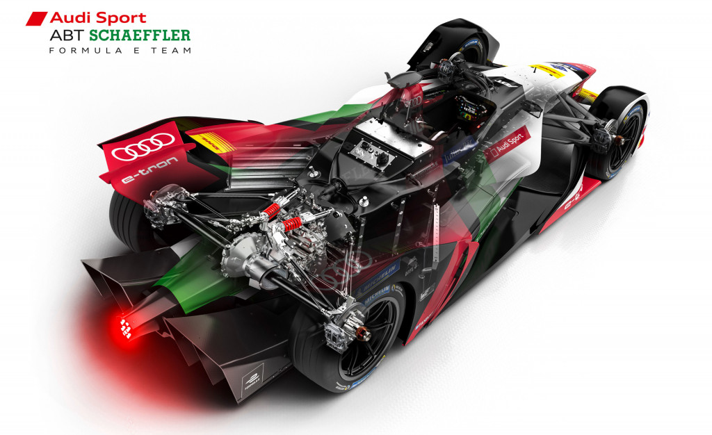 Audi e-tron FE05 electric racer revealed for 2018/2019 Formula E season