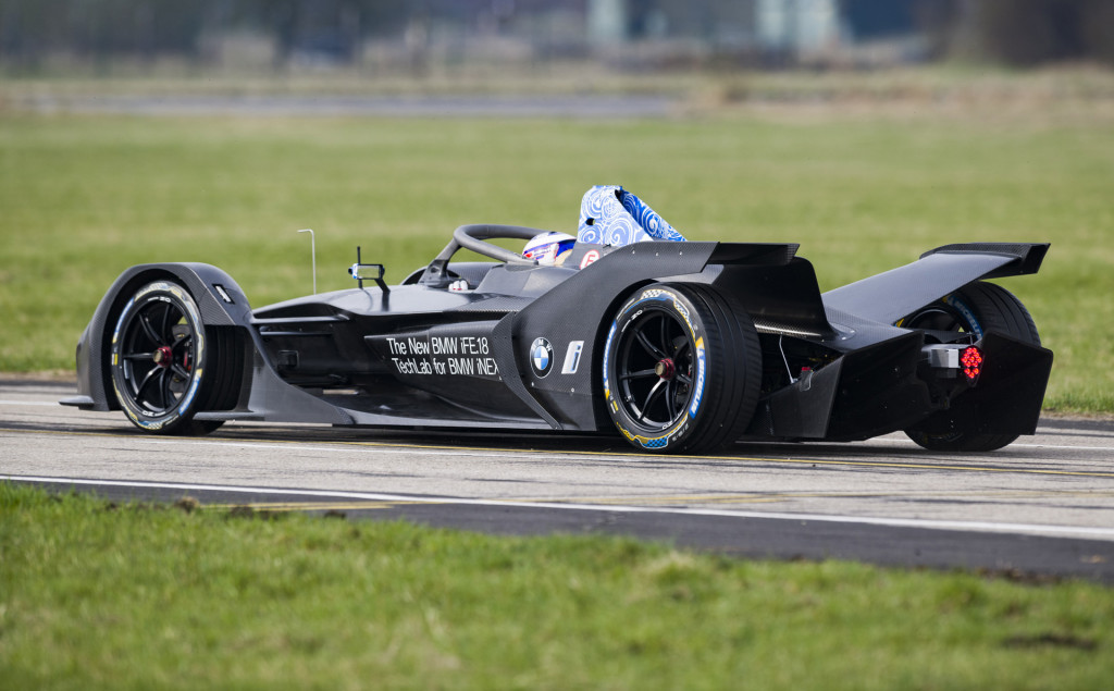 BMW completes initial shakedown for Formula E racer