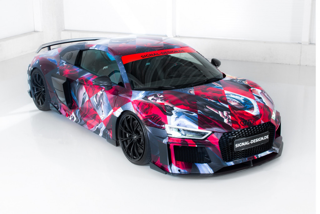 Abt Sportsline readies Audi R8 art car for 2018 Wörthersee Tour