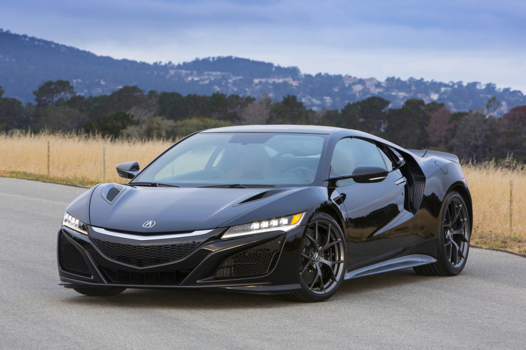 2018 Acura Nsx Review Ratings Specs Prices And Photos The Car Connection