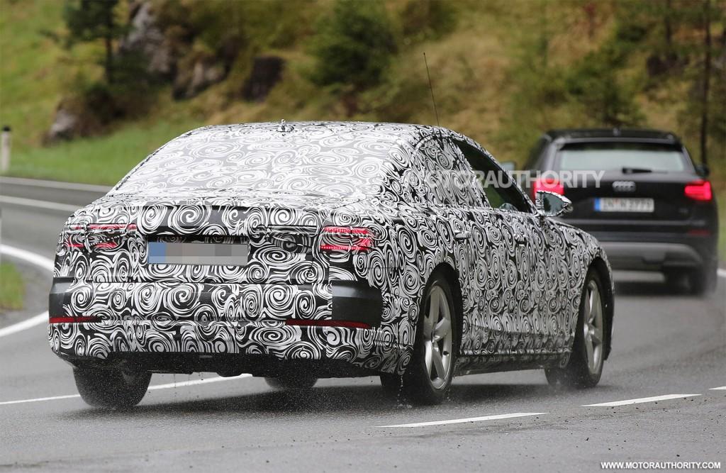 2019 Audi A8 spy shots - Image via S. Baldauf/SB-Medien