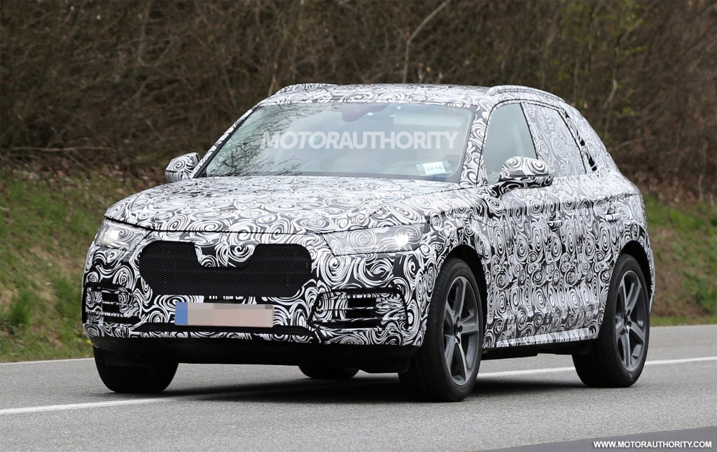 Audi Q Spy Shots - Audi car q5