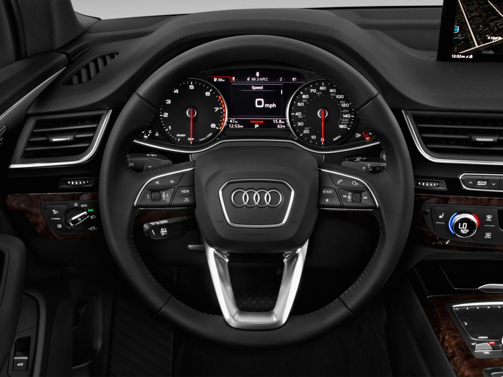 Image: 2018 Audi Q7 3.0 TFSI Premium Steering Wheel, size: 1024 x 768, type: gif, posted on ...