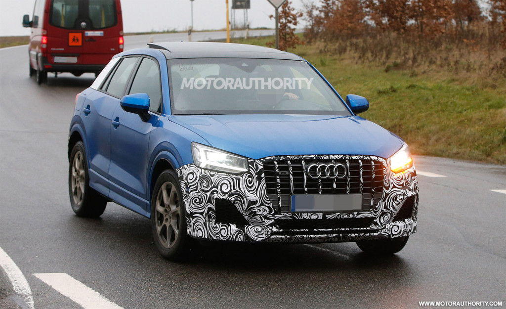 2018 Audi SQ2 spy shots