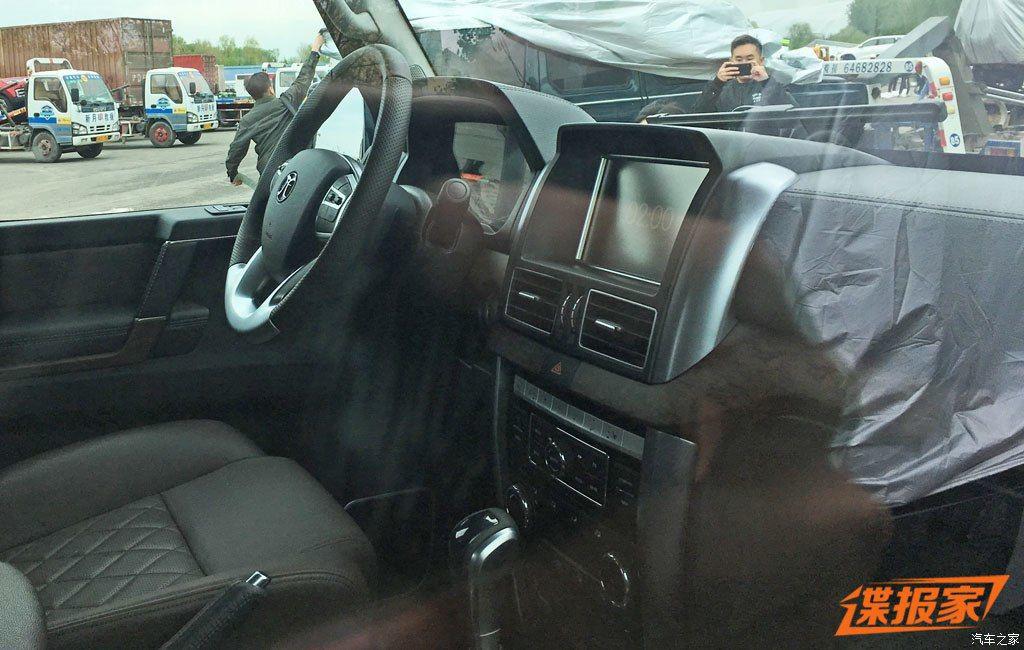 China's BAIC copies the Mercedes-AMG G63 6x6