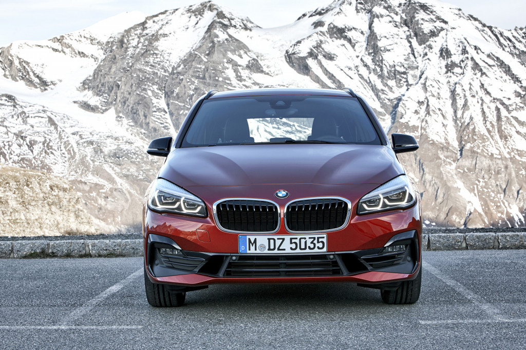 BMW gives 2-Series Active Tourer minor updates