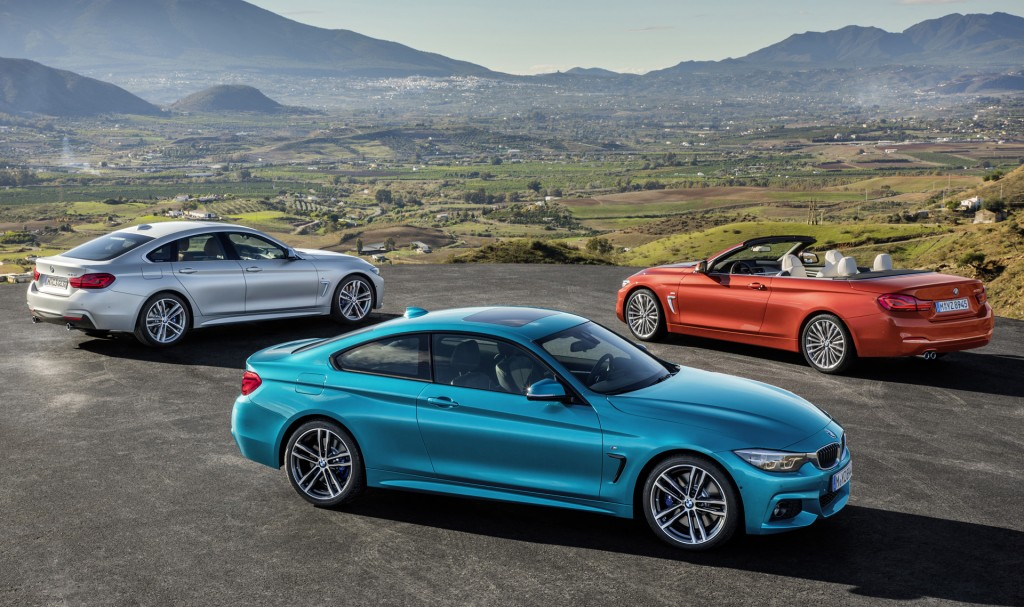 2018 BMW 4-Series arrives with updated look, stiffer suspension