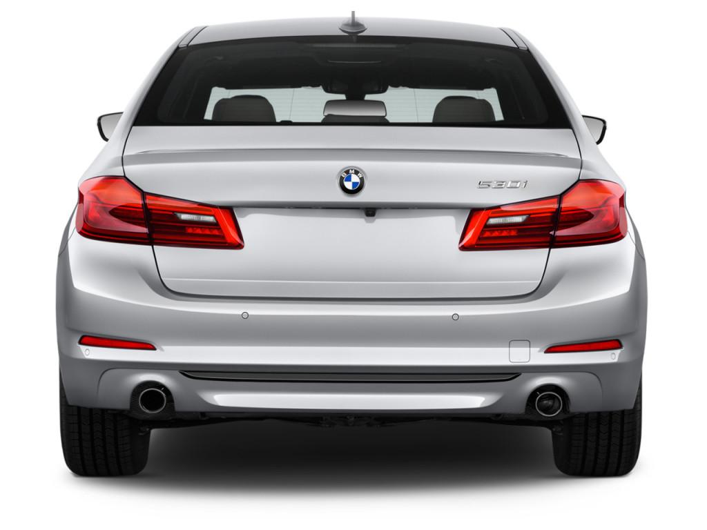 Image: 2018 BMW 5-Series 530i Sedan Rear Exterior View ...