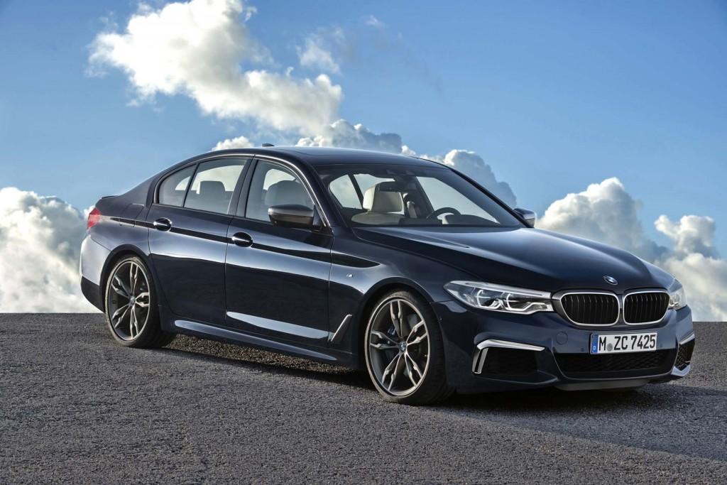 The Spark Less Is Back Diesel Powered 2018 Bmw 540d On Sale Next