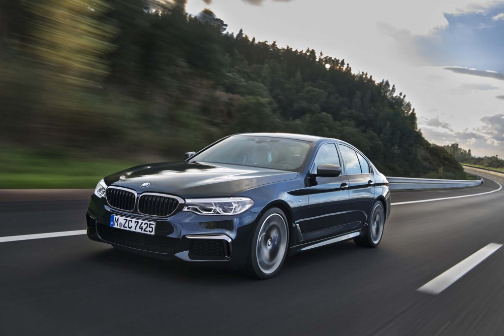2018 Bmw 5 Series Review Ratings Specs Prices And Photos The Car Connection