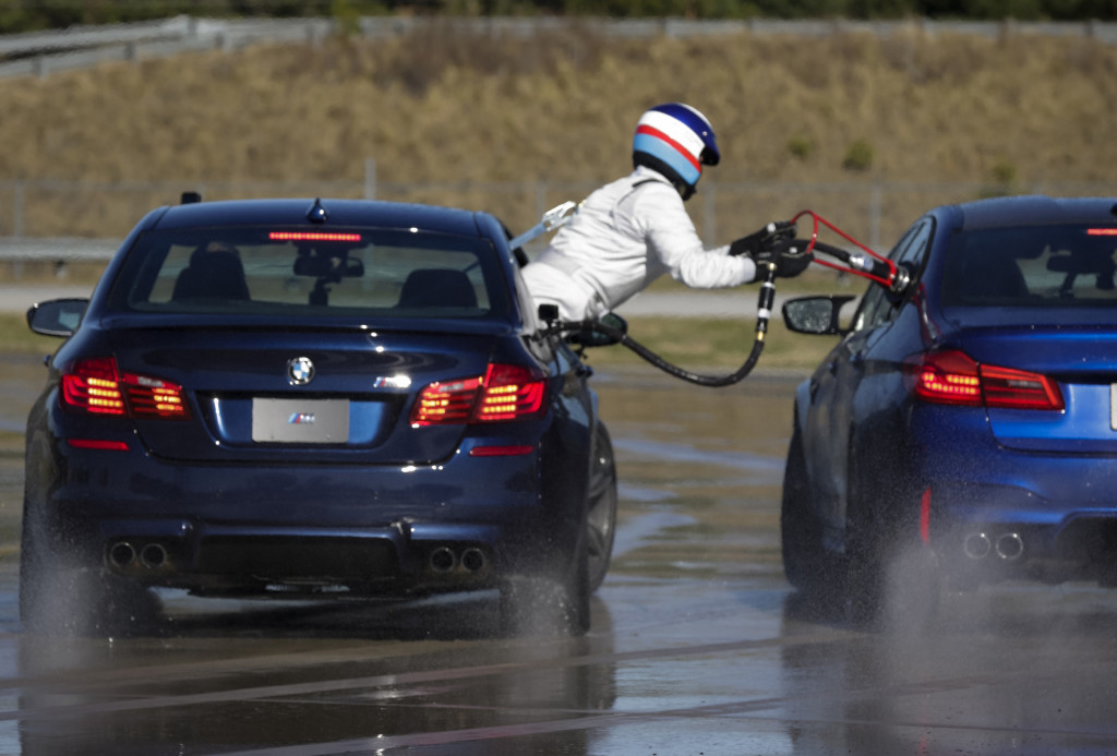 Driver in BMW M5 sets 232.5-mile record for longest drift