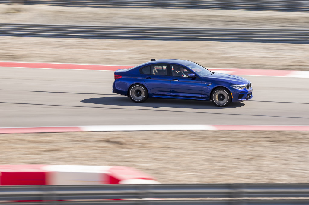 2018 BMW M5 video road (and track) test