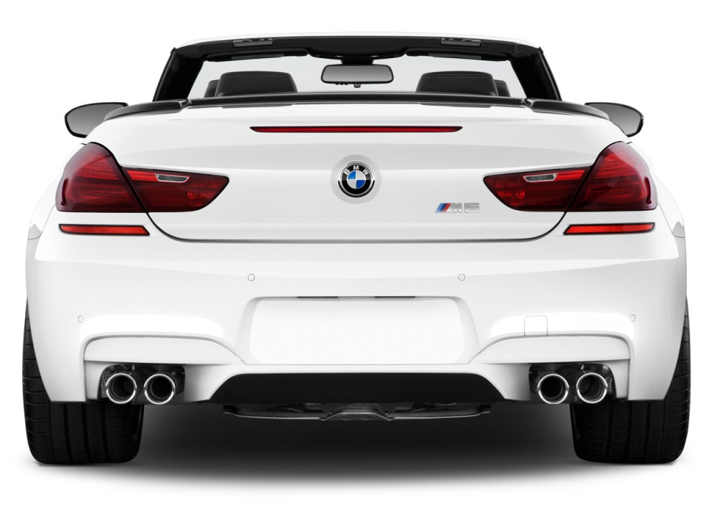Bmw M Convertible Rear Exterior View L