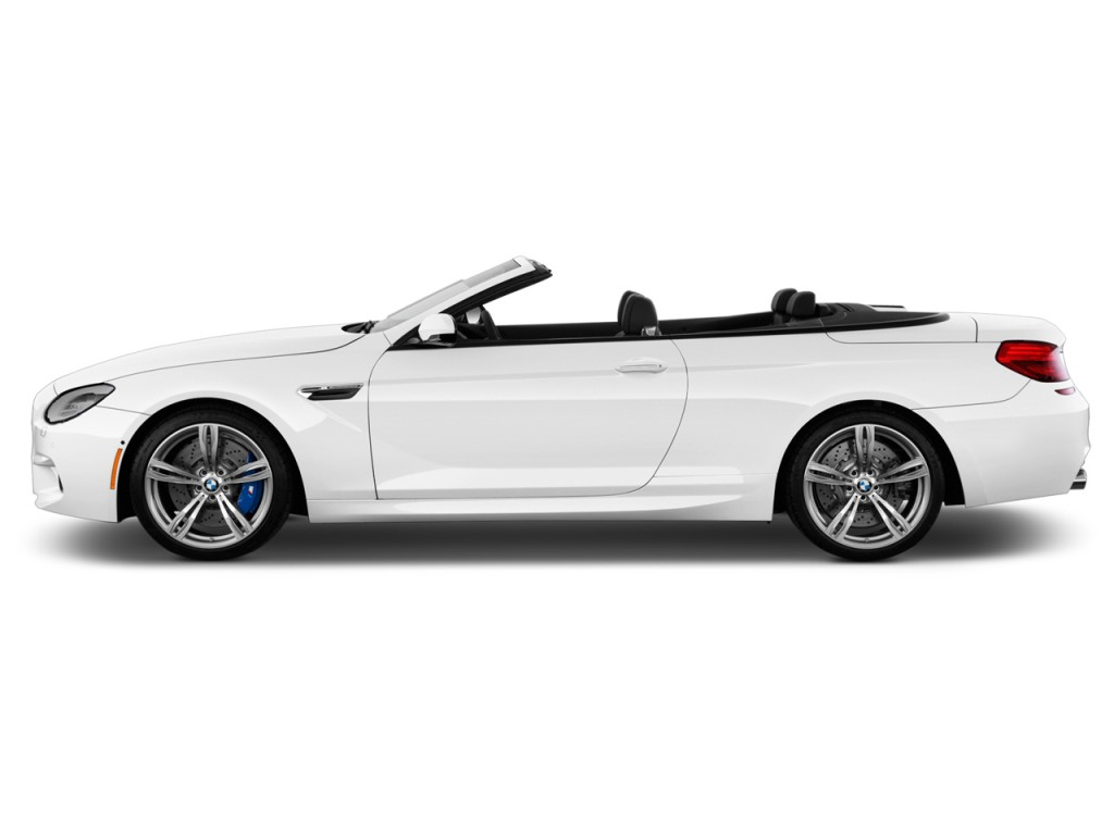 Image: 2018 BMW M6 Convertible Side Exterior View, size ...
