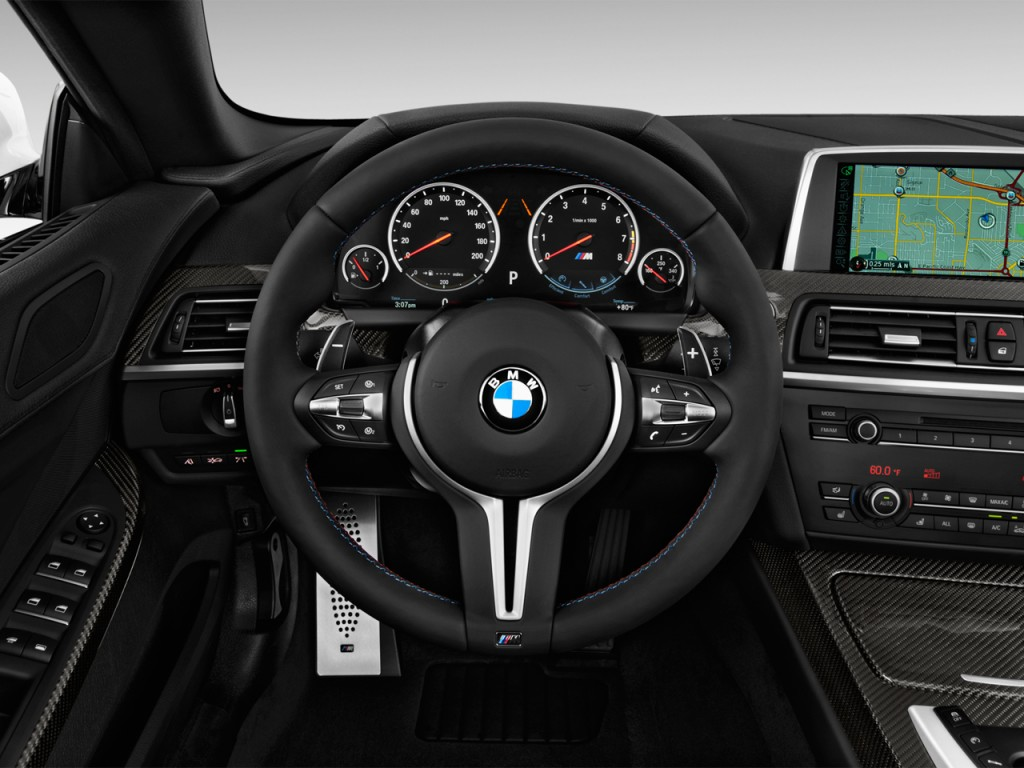 Image: 2018 BMW M6 Convertible Steering Wheel, size: 1024 ...
