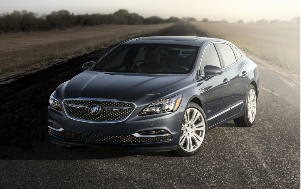 2018 Buick LaCrosse Avenir pushes brand further upscale