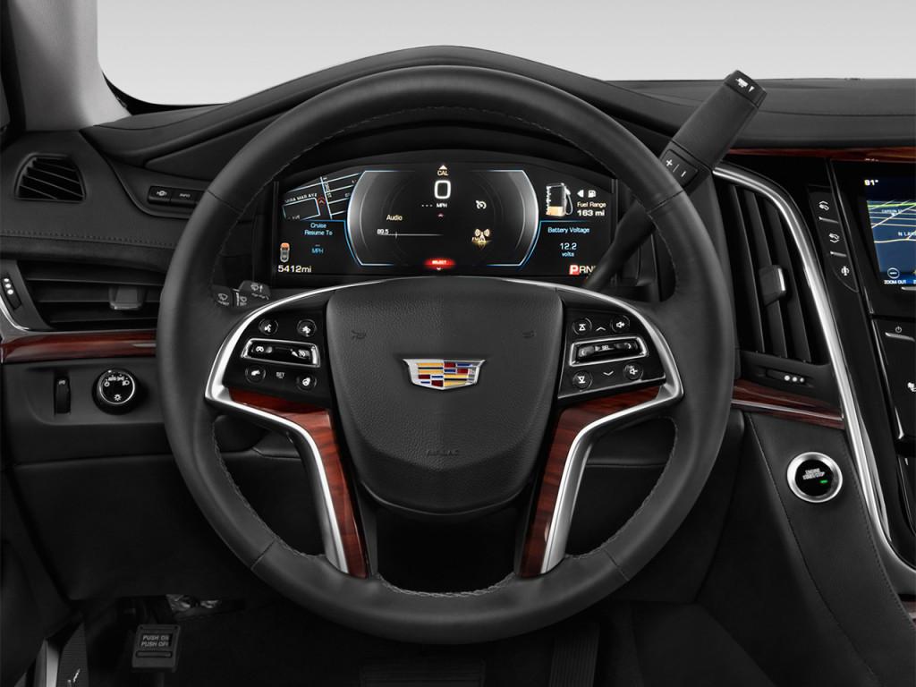 Image 2018 cadillac escalade 2wd 4 door luxury steering for Benetton 4 wheel steering
