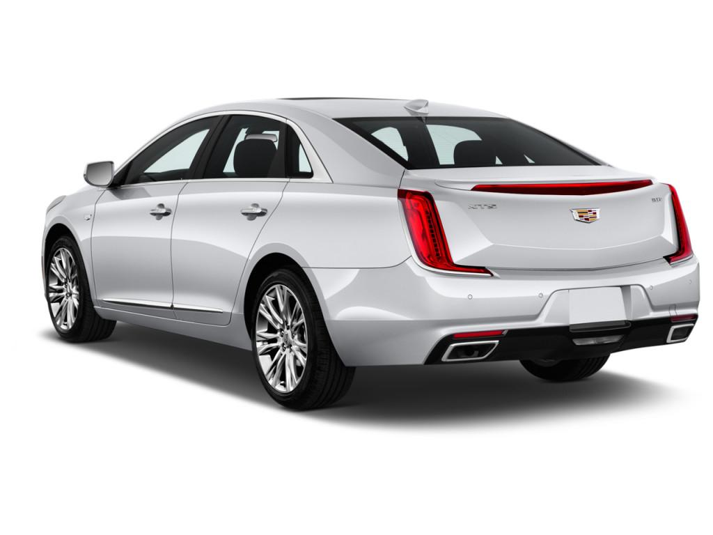 2018 Cadillac XTS 4 Door Sedan Luxury FWD Angular Rear Exterior View
