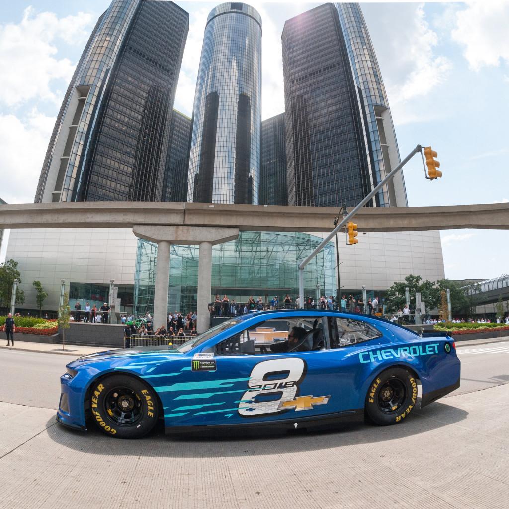 Image: 2018 Chevrolet Camaro ZL1 NASCAR Race Car, Size