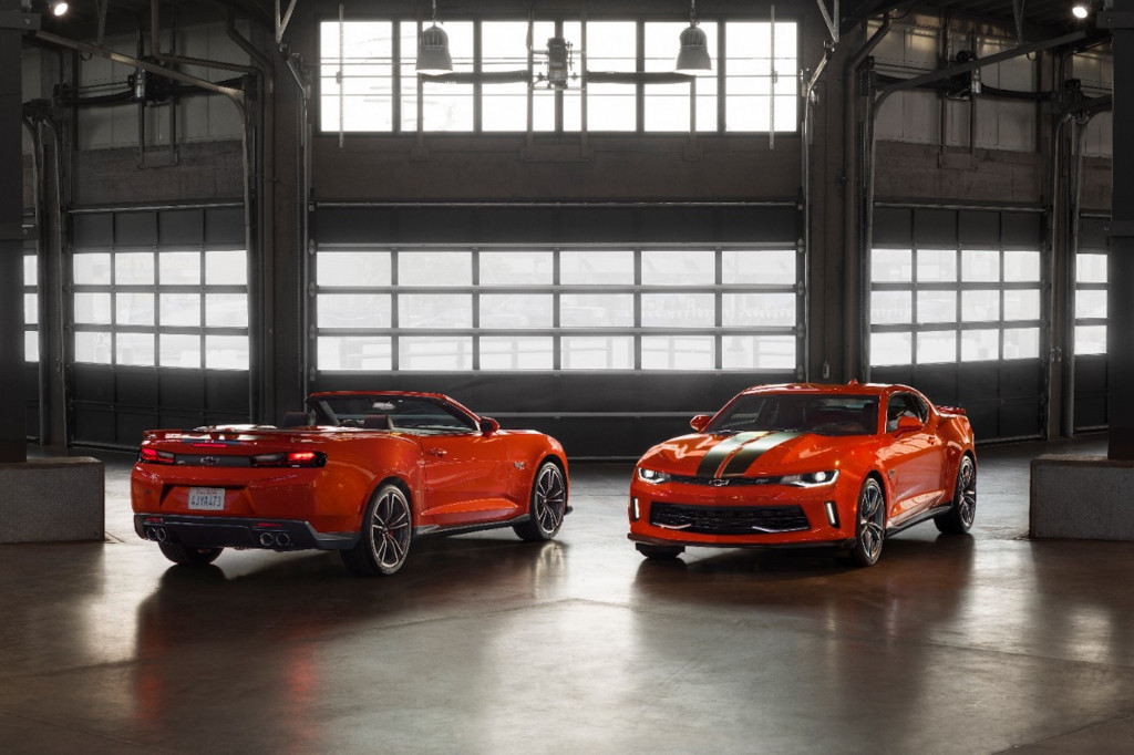 2018 Chevrolet Camaro Hot Wheels Edition: a full-scale rendition of your favorite toy