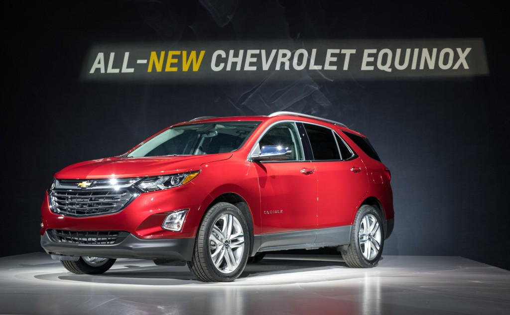 2018 Chevrolet Equinox Offers Trio Of Turbo Engines Including Sel