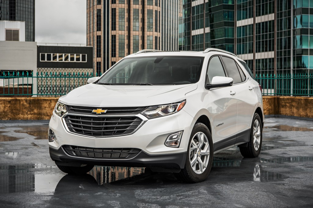 2018 Chevrolet Equinox Chevy Review Ratings Specs Prices And