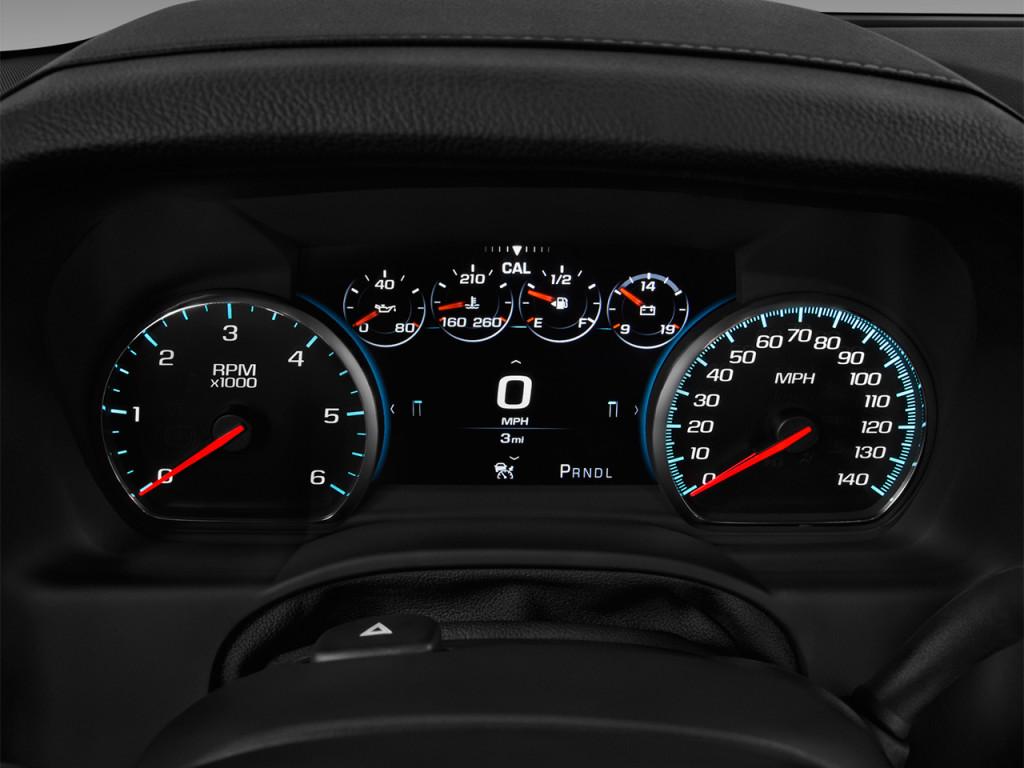 2500Hd For Sale >> Image: 2018 Chevrolet Tahoe 4WD 4-door Premier Instrument Cluster, size: 1024 x 768, type: gif ...