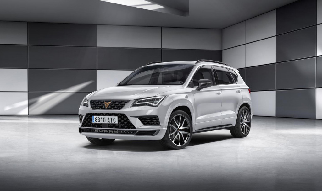 SEAT's Cupra performance brand readies Formentor SUV concept