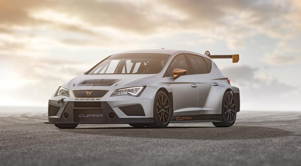 2018 Cupra Leon TCR race car
