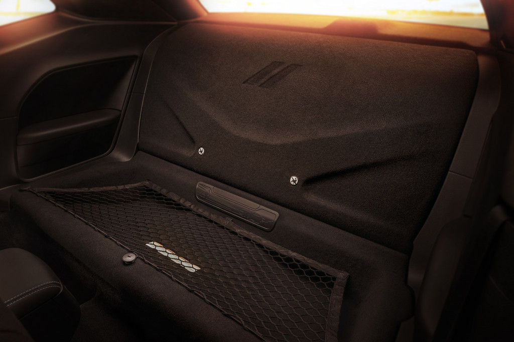 Image 2018 Dodge Challenger Srt Demon Mopar Rear Seat