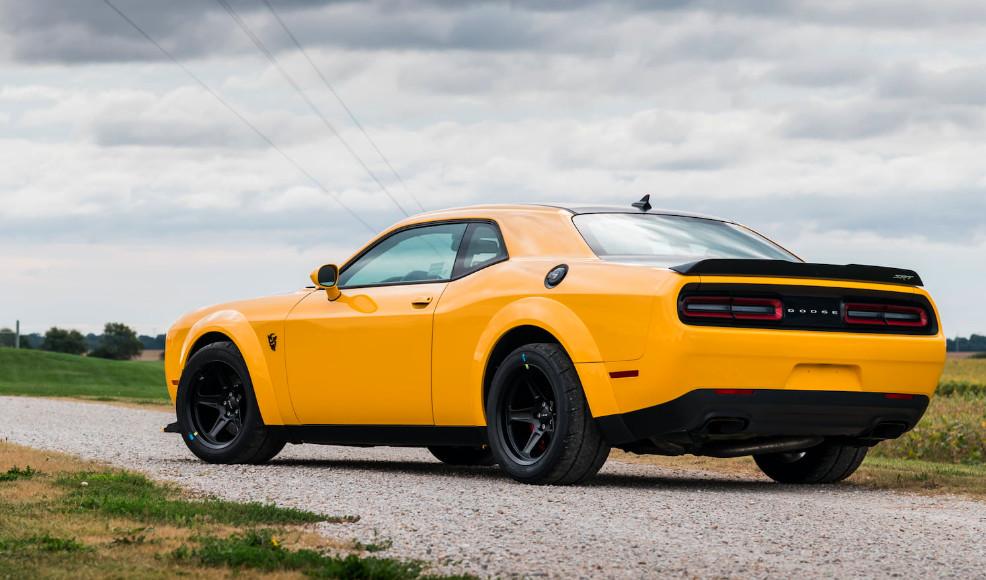Buy Michael Andretti's barely used Dodge Demon
