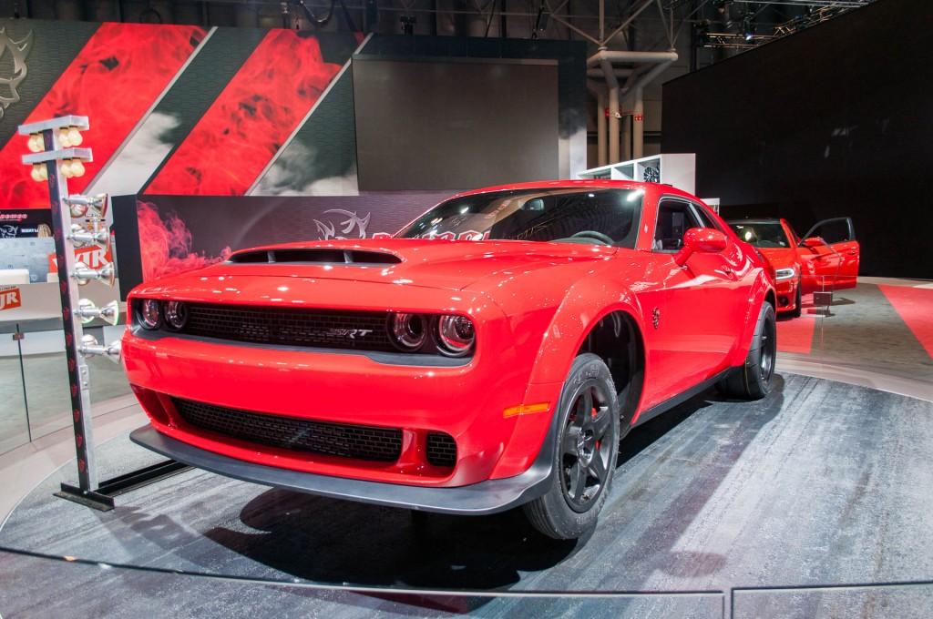 Image: 2018 Dodge Challenger SRT Demon, 2017 New York auto