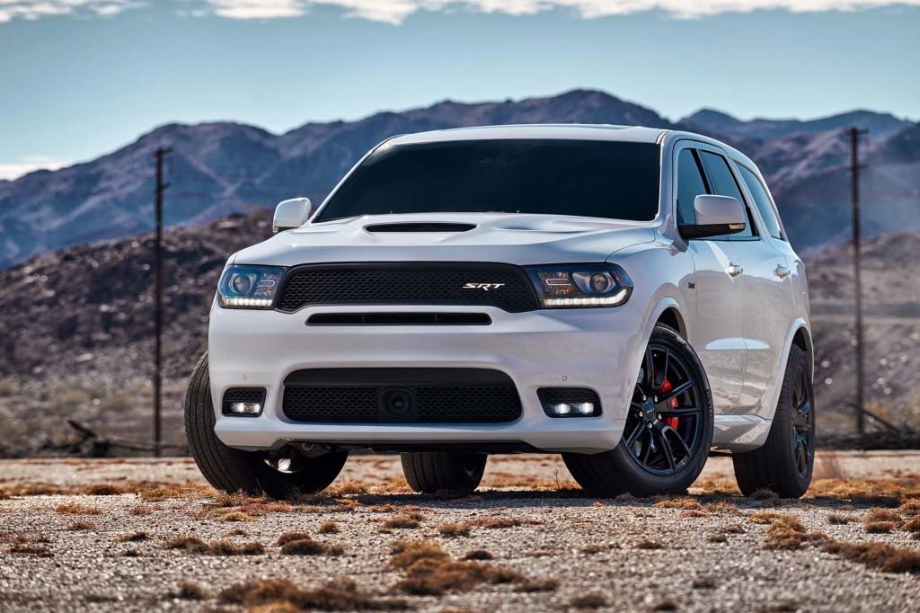 2018 Dodge Durango Srt 475 Horsepower 3 Row Suv Starts At 64 090
