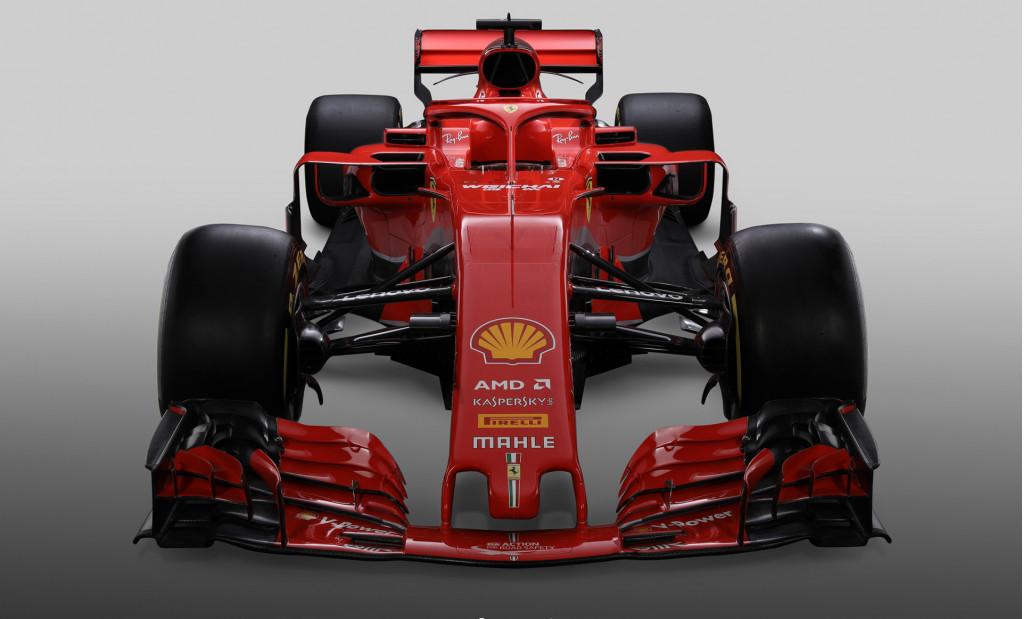 Ferrari reveals SF71H 2018 Formula 1 car