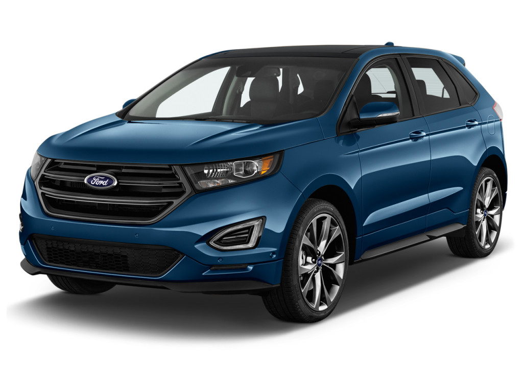 Ford Edge Sport Awd Angular Front Exterior View